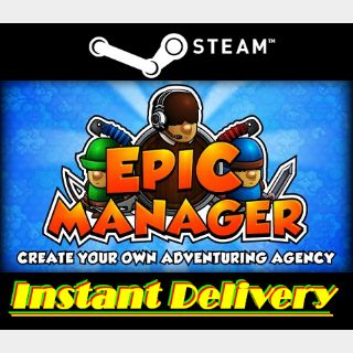 Epic Manager - Steam Key - Region Free - Instant Delivery