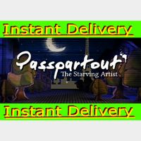 Passpartout: The Starving Artist - Steam Key - Region Free - Instant Delivery - RRP = $9.99