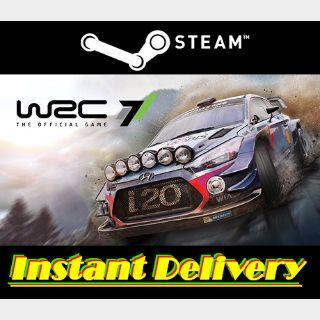 WRC 7 FIA World Rally Championship - Steam Key - Region Free - Instant Delivery