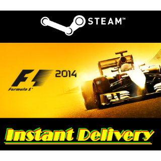 F1 2014 - Steam Key - Region Free - Instant Delivery - RRP = $29.99