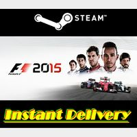 F1 2015 - Steam Key - Region Free - Instant Delivery - RRP = $39.99