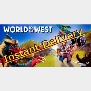 World to the West - Steam Key - Region Free - Instant Delivery - RRP = $14.99