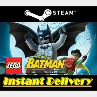 Lego Batman: The Video Game - Steam Key - Region Free - Instant Delivery