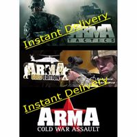ARMA Bundle - Steam Downloads - 3 Full Games - Instant delivery - Region Free