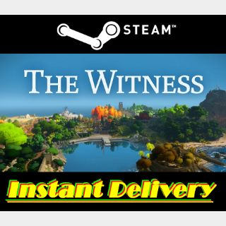 The Witness - Steam Key - Region Free - Instant Delivery