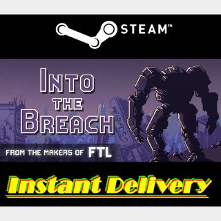 Into the Breach - Steam Key - Region Free - Instant Delivery