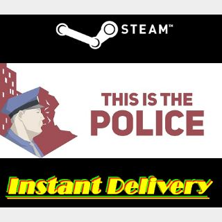 This Is the Police - Steam Key - Instant Delivery