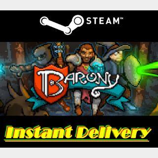 Barony - Steam Key - Region Free - Instant Delivery