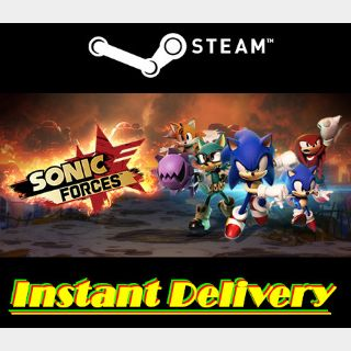 Sonic Forces - Steam Key - Region Free - Instant Delivery