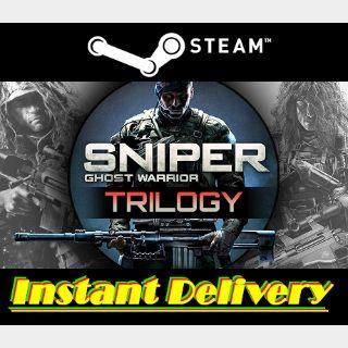 Sniper: Ghost Warrior Trilogy - Steam Key - Region Free - Instant Delivery
