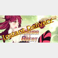 Sakura Agent - Steam Key - Region Free - Instant Delivery - RRP = $9.99
