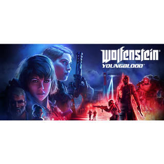 WOLFENSTEIN YOUNGBLOOD  PC BETHESDA KEY ONLY RTX GRAPHIC CARD