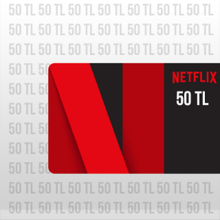 Netflix Gift Card 50 TL TURKEY Automatic Delivery