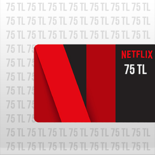 75 TL Netflix Gift Card TURKEY Automatic Delivery