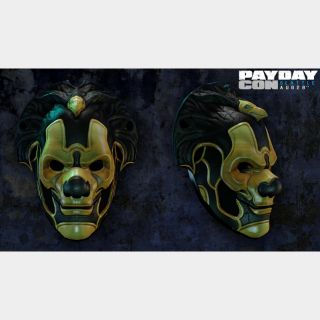 Payday 2 PAYDAYCON 2015 Mask DLC STEAM KEY GLOBAL