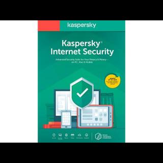 Kaspersky Internet Security 2020 1 Year 1 Device GLOBAL