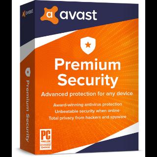 Avast Premium Security 1 Device 6 Months PC