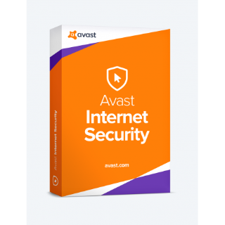 Avast Internet Security License Key  1 Device 6 months