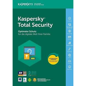 Kaspersky Total Security 2020 1 Year 1 Device GLOBAL