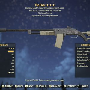 Weapon | AA FFR 15C Fixer