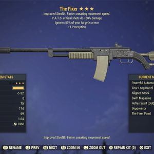 Weapon | AA 50C +Per Fixer