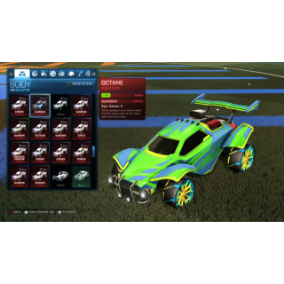 I will Design the car of your dreams on ROCKET LEAGUE!
