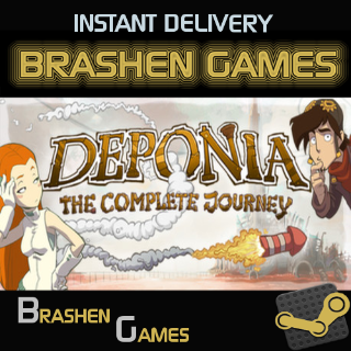 ⚡️ Deponia: The Complete Journey [INSTANT DELIVERY]