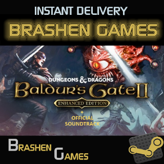 ⚡️ Baldur's Gate II 2: Enhanced Edition + Official Soundtrack [INSTANT DELIVERY]