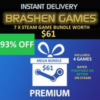 7 x Steam Game Bundle - Value $61 [INSTANT DELIVERY]
