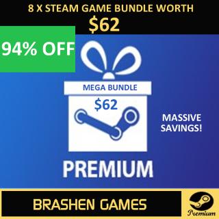 ⚡️ 8 x Steam Game Keys - Value $62 [INSTANT DELIVERY] [MEGA BUNDLE]