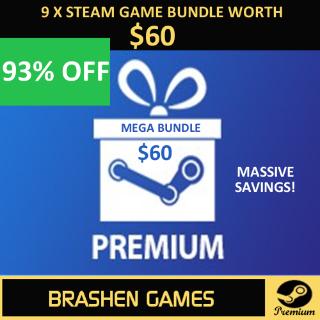 ⚡️ 9 x Steam Game Keys - Value $60 [INSTANT DELIVERY] [MEGA BUNDLE]
