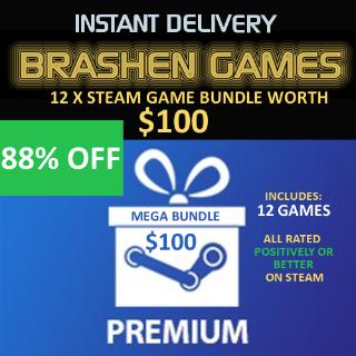 12 x Steam Games - Value $100 [INSTANT DELIVERY] [MEGA BUNDLE]