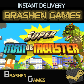 ⚡️ Super Man Or Monster [INSTANT DELIVERY]