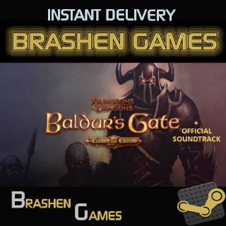 ⚡️ Baldur's Gate: Enhanced Edition + Official Soundtrack [INSTANT DELIVERY]
