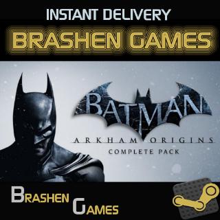 ⚡️ Batman Arkham Origins Complete Pack [INSTANT DELIVERY]