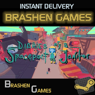 Diaries of a Spaceport Janitor [INSTANT DELIVERY]