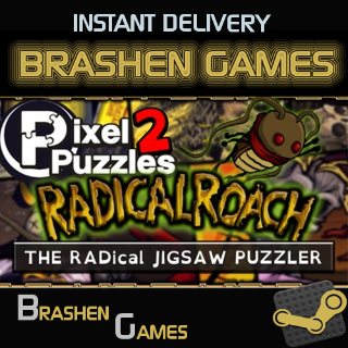 ⚡️ Pixel Puzzles 2: RADical ROACH [INSTANT DELIVERY]