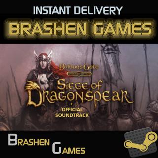 ⚡️ Baldur's Gate: Siege of Dragonspear DLC + Official Soundtrack [INSTANT DELIVERY]