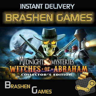⚡️ Midnight Mysteries: Witches of Abraham - Collector's Edition [INSTANT DELIVERY]