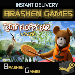 ⚡️ Teddy Floppy Ear - Kayaking [INSTANT DELIVERY]