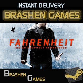 ⚡️ Fahrenheit: Indigo Prophecy Remastered [INSTANT DELIVERY]