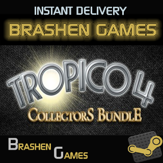 ⚡️ Tropico 4: Collector's Bundle [INSTANT DELIVERY]