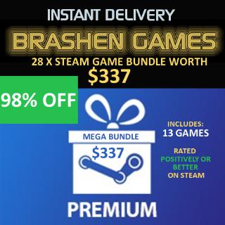 28 x Steam Games - Value $337 [INSTANT DELIVERY] [MEGA BUNDLE]