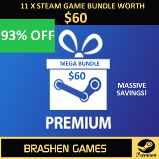⚡️ 11 x Steam Game Keys - Value $60 (2 DLC) [INSTANT DELIVERY] [MEGA BUNDLE]