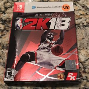 NBA 2K 18 Legend Edition