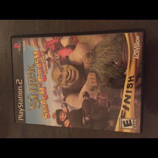 Shrek: Smash n' Crash Racing (Sony PlayStation 2, 2006)