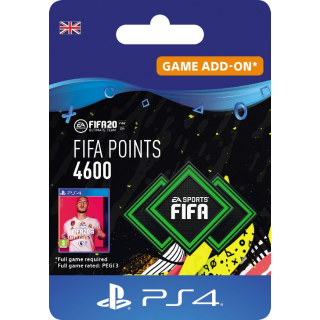 UK FIFA 20 - 4600 FUT Points PS4 Key United Kingdom