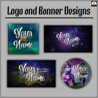 I will make you a Logo or Banner