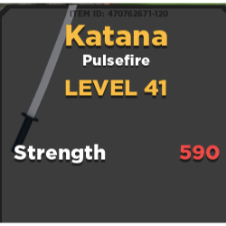 Other Treasure Quest Katana In Game Items Gameflip