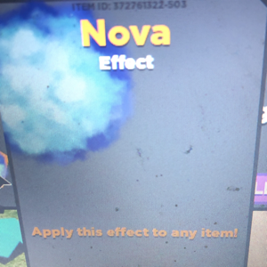 Collectibles | nova effect